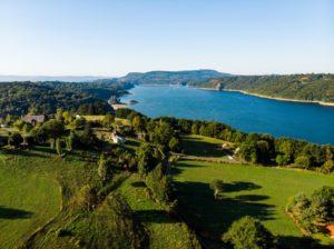 Vakantiewoning Auvergne Frankrijk achter ons huis.